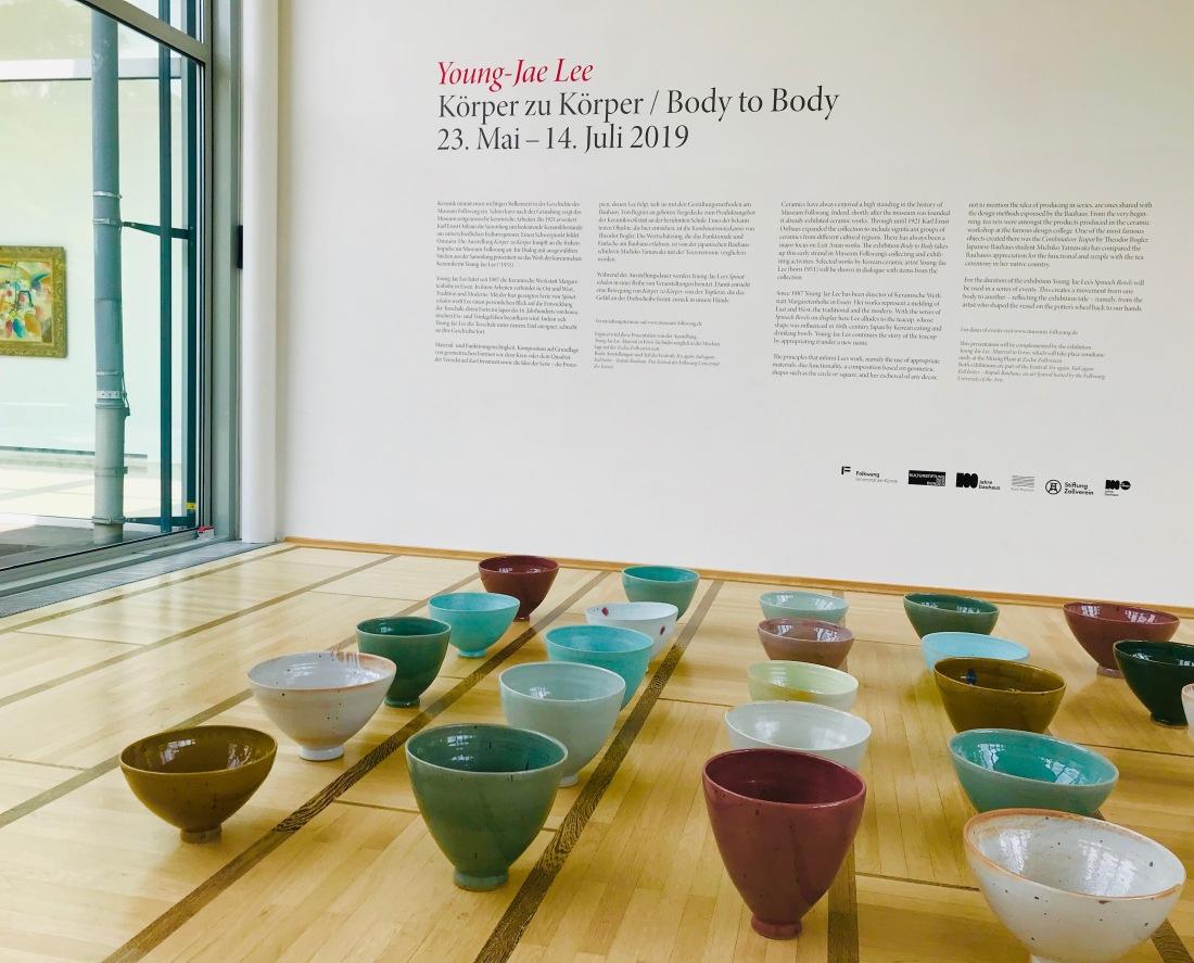 """Young-Jae Lee: Foto aus der Ausstellung """"Von Körper zu Körper"""" im Museum Folkwang"""